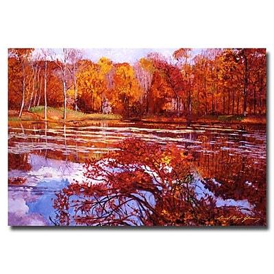 Trademark Fine Art 'Scarlet Maples' 30