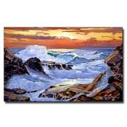 Trademark Fine Art 'Storm on the Irish Coast'