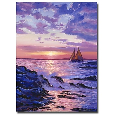 Trademark Fine Art 'Sail at Dawn'