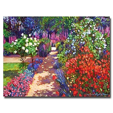 Trademark Fine Art 'Romantic Garden Walk' 18