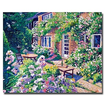 Trademark Fine Art 'English Courtyard' 26
