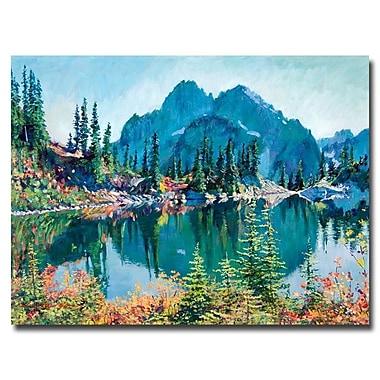 Trademark Fine Art 'Reflections on Gem Lake' 24