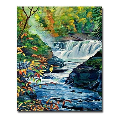 Trademark Fine Art 'Geneese River in Autumn'
