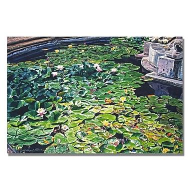 Trademark Fine Art 'Waterlillies Huntington' 22