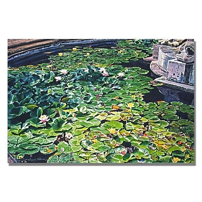 Trademark Fine Art 'Waterlillies Huntington' 16