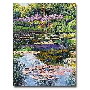 Trademark Fine Art 'Giverny Reflections' 35