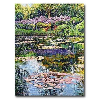 Trademark Fine Art 'Giverny Reflections' 24