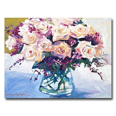 Trademark Fine Art 'Roses in Glass' 35