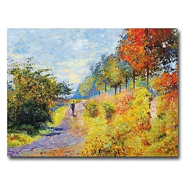 Trademark Fine Art 'The Sheltered Path'