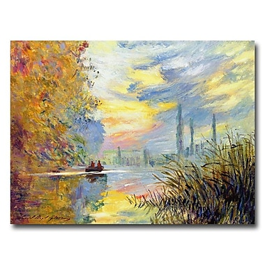 Trademark Fine Art 'Sunset at Argenteuil' 35