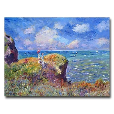 Trademark Fine Art 'On the Bluff at Pourville' 35