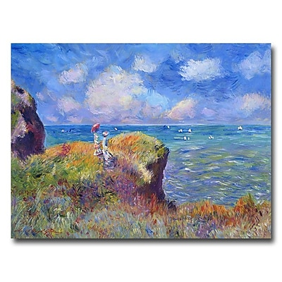 Trademark Fine Art 'On the Bluff at Pourville' 26