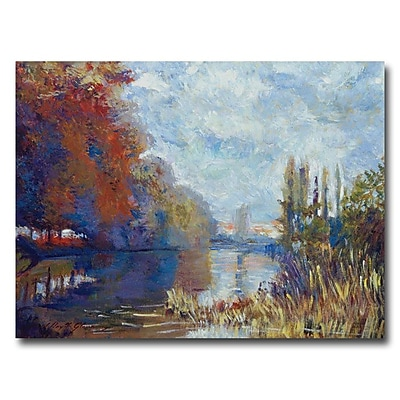 Trademark Fine Art 'Argenteuil on the Seine' 18