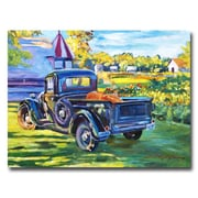 "Trademark Fine Art 'The Pumpking Pickup' 35"" x 47"" Canvas Art"