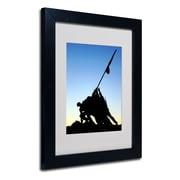 Trademark Fine Art 'Iwo Jima Memorial'