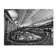 "Trademark Fine Art 'Union Station Shops Interior' 18"" x 24"" Canvas Art"