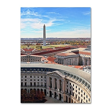 Trademark Fine Art 'Washington DC' 24