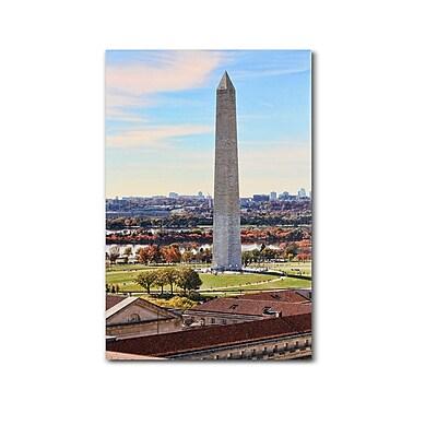 Trademark Fine Art 'Washington Monument' 22