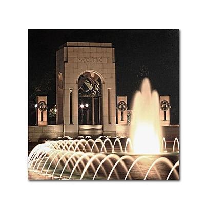 Trademark Fine Art 'World War II Memorial' 14