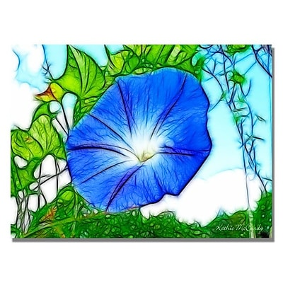 Trademark Fine Art 'Heavenly Blue Morning Glory' 22