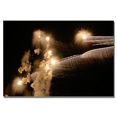 Trademark Fine Art 'Abstract Fireworks 34' 22