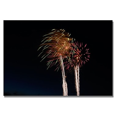 Trademark Fine Art 'Abstract Fireworks 37'