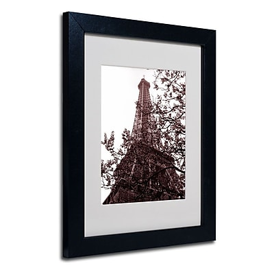 Trademark Fine Art 'Eiffel With Tree' 11