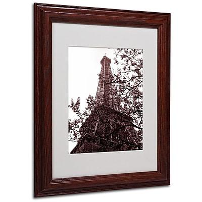 Trademark Fine Art 'Eiffel With Tree' 11