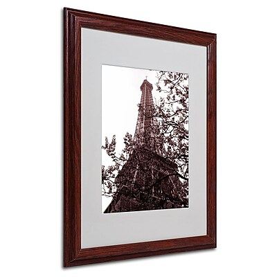 Trademark Fine Art 'Eiffel With Tree' 16
