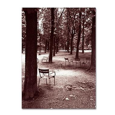 Trademark Fine Art 'Jardin du Luxembourg Chairs' 18