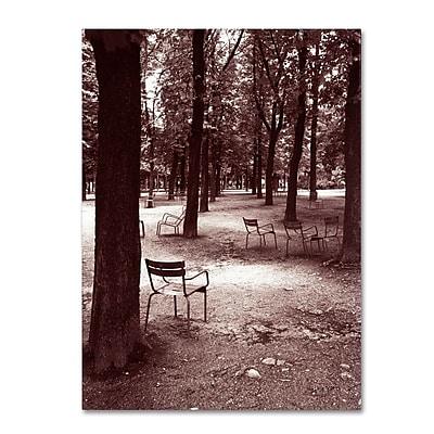 Trademark Fine Art 'Jardin du Luxembourg Chairs' 14