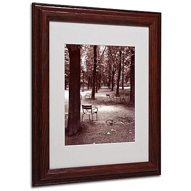 Trademark Fine Art 'Jardin du Luxembourg Chairs' 11