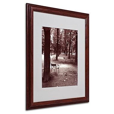 Trademark Fine Art 'Jardin du Luxembourg Chairs' 16