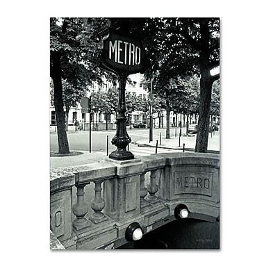 Trademark Fine Art 'Le Metro' 18