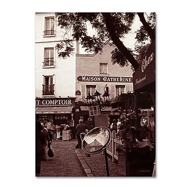 Trademark Fine Art 'Maison Catherine, Montmartre' 18