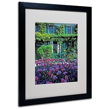 Trademark Fine Art 'Monet's House With Tulips' 16