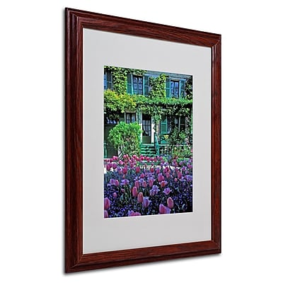 Trademark Fine Art 'Monet's House With Tulips' 16