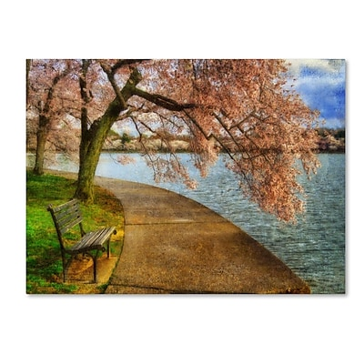 Trademark Fine Art 'Meet Me At Our Bench' 22