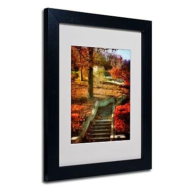 Trademark Fine Art 'Autumn Stairway'