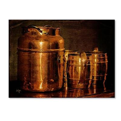 Trademark Fine Art 'Copper Jugs' 30