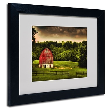 Trademark Fine Art 'Summer Evening On the Farm'