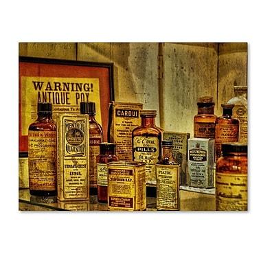 Trademark Fine Art 'Vintage Medicines' 14