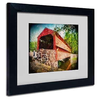 Trademark Fine Art 'Old Covered Bridge' 11