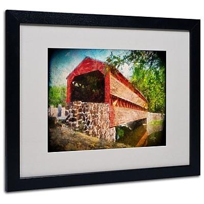 Trademark Fine Art 'Old Covered Bridge' 16