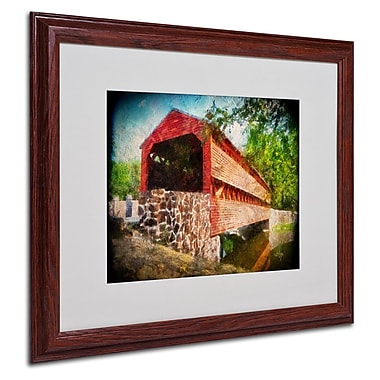 Trademark Fine Art 'Old Covered Bridge' 16