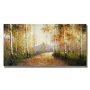 "Trademark Fine Art 'Early Morning' 18"" x 32"" Canvas Art"