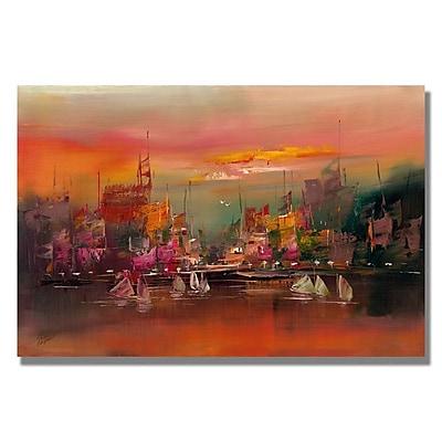 Trademark Fine Art 'City Reflections III' 16