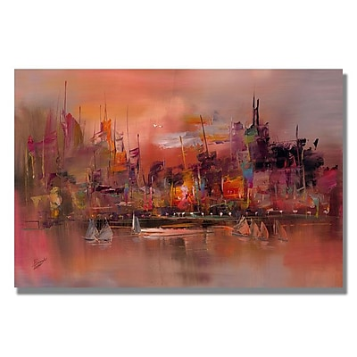 Trademark Fine Art 'City Reflections IV' 35