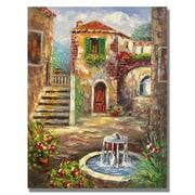 Trademark Fine Art 'Tuscan Cottage'