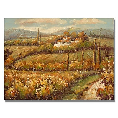 Trademark Fine Art 'Hillside Cottage' 26